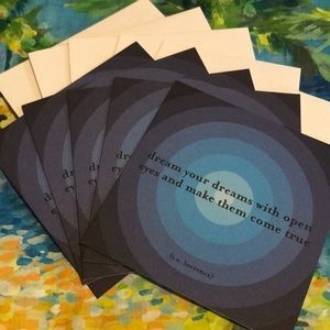 5 Blank Cards